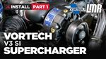 How To Install Fox Body Mustang Vortech V3 Supercharger - Part 1
