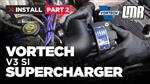 How To Install Fox Body Mustang Vortech V3 Supercharger - Part 2