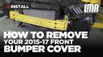 How to Remove Your Mustang Front Bumper Cover (2015-2017)