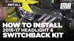 Mustang 6000K Headlight & Switchback Conversion Kit (2015-2017)