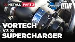 How To Install Fox Body Mustang Vortech V3 Supercharger - Part 3