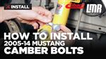 Mustang Eibach Camber Adjustment Bolts Install (2005-14)